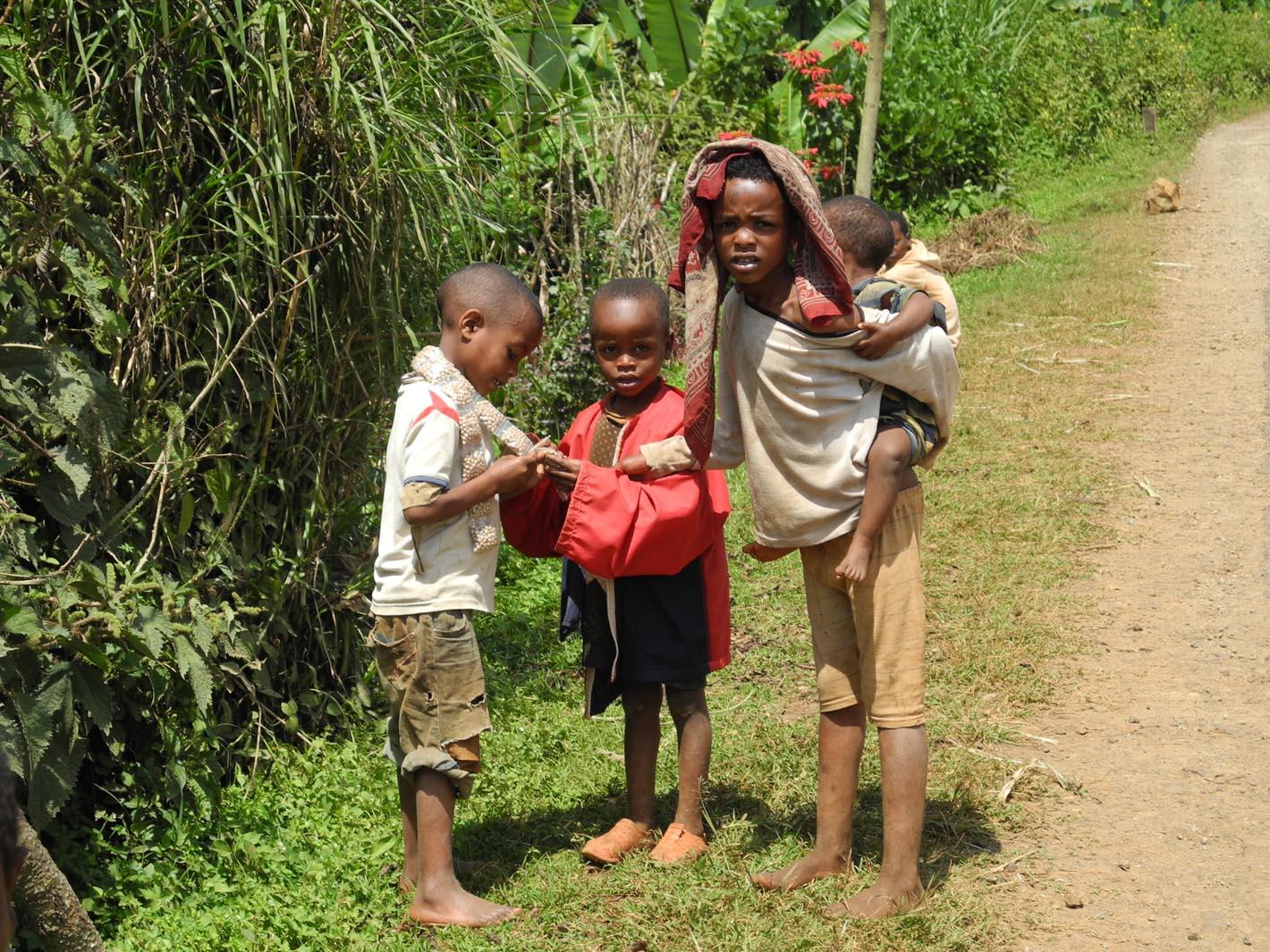 Enfant éthiopien à parrainer