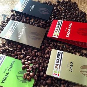cafe vert ethiopien Terra Kahwa
